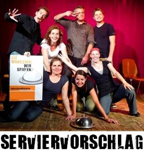 Foto SERVIERVORSCHLAG Improtheater Karlsruhe
