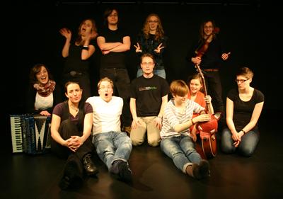Foto Schoko mit Gurke Improvisationstheater Halle