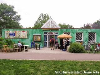 Foto Kulturwerkstatt GRÜNE VILLA Halle