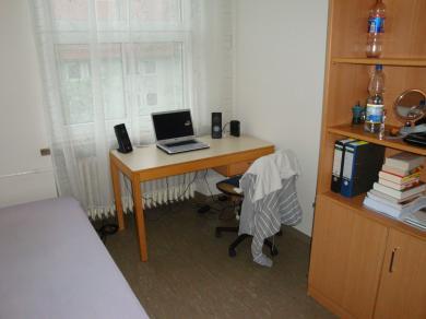 einzelappartement im ulmenweg studentensiedlung ludwig frank 1 zimmer wohnung in mannheim. Black Bedroom Furniture Sets. Home Design Ideas