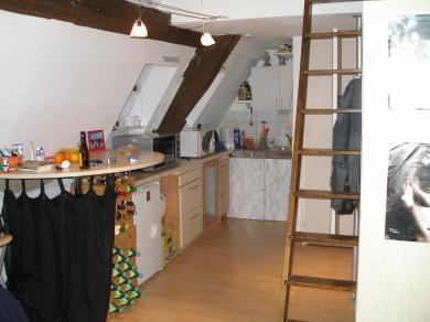 appartmentwohnungen 40 qm mitten in der esslinger altstadt megazentral und mit besonderem. Black Bedroom Furniture Sets. Home Design Ideas