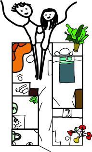 unsere erste gemeinsame wohnung vielleicht ungef hr so wohnung in stuttgart s d west. Black Bedroom Furniture Sets. Home Design Ideas