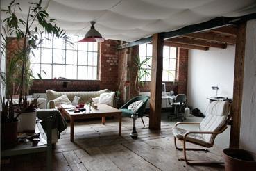 Atelier | Loft in der Baumwollspinnerei - WGZimmer Leipzig-Plagwitz