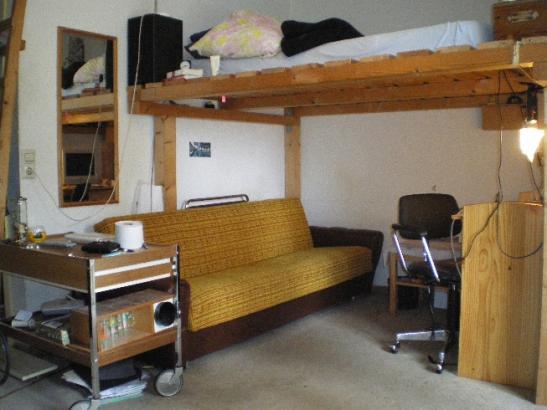 appartement in studentenwohnheim von privat zu vermieten. Black Bedroom Furniture Sets. Home Design Ideas
