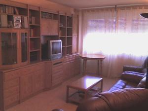 1 zimmer wohnung ordentlich m bliert wohnung in madrid centrum. Black Bedroom Furniture Sets. Home Design Ideas