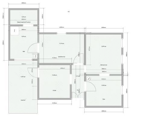 warmmiete 500 2011 renovierte 3 zimmer k che bad wohnung nichtraucher wohnung wohnung in. Black Bedroom Furniture Sets. Home Design Ideas