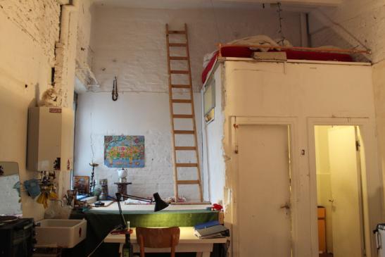 1 zimmerapartment im k nstlerhaus hammerbrook 1 zimmer wohnung in hamburg hammerbrook. Black Bedroom Furniture Sets. Home Design Ideas