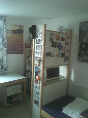 g nstiges studentenappartement im sailerheim 1 zimmer wohnung in regensburg pruefening. Black Bedroom Furniture Sets. Home Design Ideas