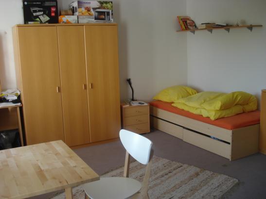 apartment im studentenwohnheim augartenstra e 1 zimmer wohnung in mannheim schwetzingerstadt. Black Bedroom Furniture Sets. Home Design Ideas