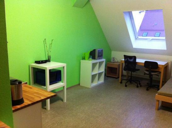 Ez apartment im studentenwohnheim ulmenweg zur zwischenmiete 1 zimmer wohnung in mannheim for 4 zimmer wohnung mannheim