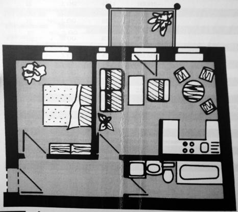 1 1 2 zi im gr nen obersch neweide mit spree park. Black Bedroom Furniture Sets. Home Design Ideas