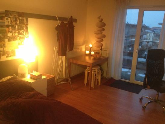 schmuckst ck mit dachterrasse zentral 1 jahr zu haben 1 zimmer wohnung in regensburg zw. Black Bedroom Furniture Sets. Home Design Ideas