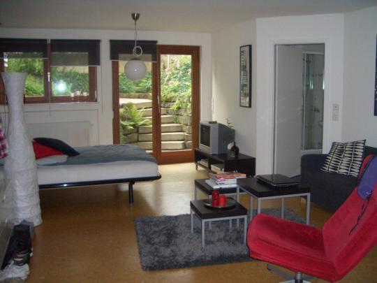 ruhige 1 zimmer einliegerwohnung am georgenberg 1 zimmer. Black Bedroom Furniture Sets. Home Design Ideas