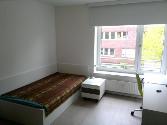 moderne wohnung im neuen wohnheim 1 zimmer wohnung in bremen lehe. Black Bedroom Furniture Sets. Home Design Ideas