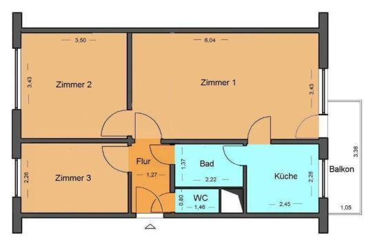 3 raumwohnung in l tten klein ggf mit k che und teppich wohnung in rostock l tten klein. Black Bedroom Furniture Sets. Home Design Ideas