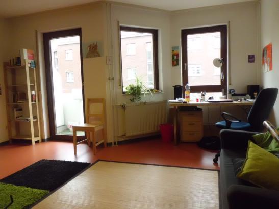 m bliertes appartment im studentenwohnheim augartenstra e 1 zimmer wohnung in mannheim. Black Bedroom Furniture Sets. Home Design Ideas