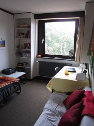 sonniges m bliertes 13qm wohnheimzimmer zur untermiete zentral wg zimmer in osnabr ck weststadt. Black Bedroom Furniture Sets. Home Design Ideas