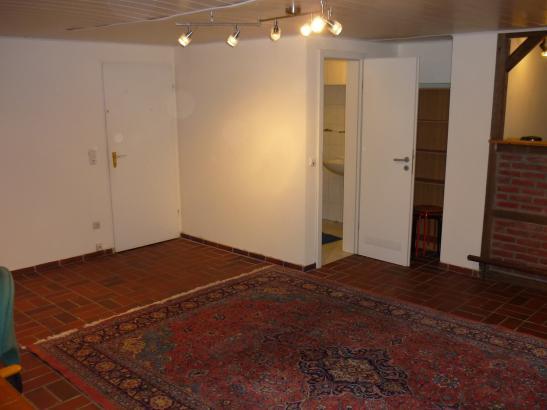 gro e 1 zimmer wohnung in ruhiger u gr ner lage n he hsch haste 1 zimmer wohnung in. Black Bedroom Furniture Sets. Home Design Ideas