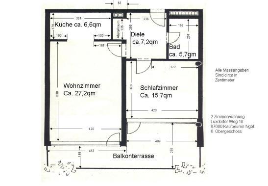 2 Zimmerwohnung Mit Grossem Balkon Und Schwimmbadnutzung