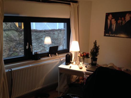 wohnen im fachwerkhaus 1 zimmer wohnung in frankfurt am. Black Bedroom Furniture Sets. Home Design Ideas