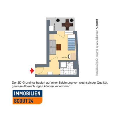 Wohnung f r studenten 1 zimmer app mit balkon 1 for 1 zimmer wohnung in munchen
