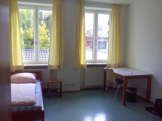 Appartement im kolpingwohnheim am stachus m beliert 1 for 1 zimmer wohnung in munchen