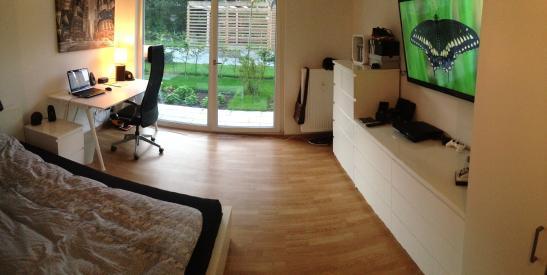 Exklusives appartement in neubau mit terrasse 27qm 1 for 1 zimmer wohnung in munchen