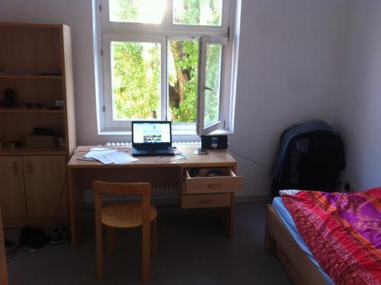 einzelapartment im studentenwohnheim 1 zimmer wohnung in. Black Bedroom Furniture Sets. Home Design Ideas