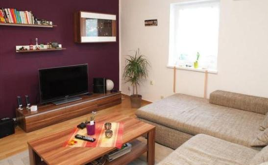 gem tliche und modern eingerichtete whg m balkon in ruhiger lage wohnung in frankfurt am main. Black Bedroom Furniture Sets. Home Design Ideas