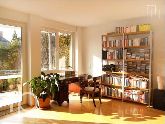 wohnen im park moderne 3 zimmer wohnung wg zimmer in. Black Bedroom Furniture Sets. Home Design Ideas