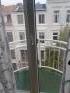 der Ausblick vom Balkon