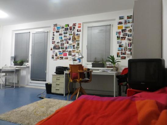 m bliertes gem tliches studentenapartment 1 zimmer wohnung in frankfurt oder neuberesinchen. Black Bedroom Furniture Sets. Home Design Ideas
