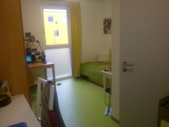 sch nes appartement im studentenwohnheim kisselberg 1 zimmer wohnung in mainz mainz. Black Bedroom Furniture Sets. Home Design Ideas