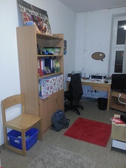 einzelappartment im ulmenweg studentensiedlung ludwig frank 1 zimmer wohnung in mannheim. Black Bedroom Furniture Sets. Home Design Ideas