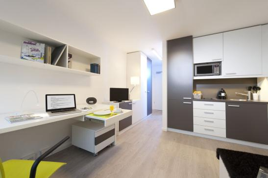 campus viva new 1 zimmer wohnung in bremen lilienthal. Black Bedroom Furniture Sets. Home Design Ideas