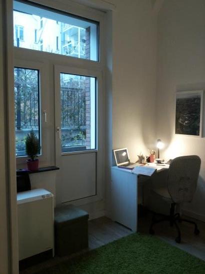 wundersch ne wohnung am floragarten 1 zimmer wohnung in d sseldorf bilk. Black Bedroom Furniture Sets. Home Design Ideas