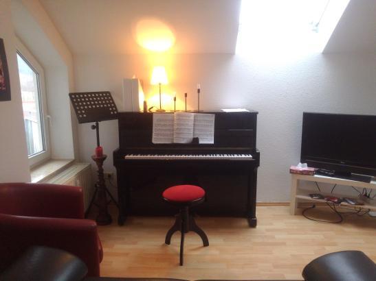 wundersch ne maisonette wohnung in hessental mit klavier wohnung in schw bisch hall hessental. Black Bedroom Furniture Sets. Home Design Ideas