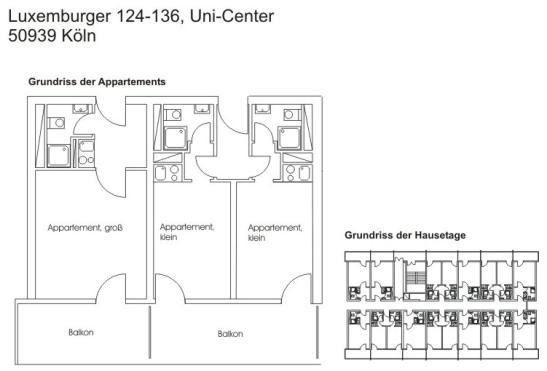 24 qm appartment im unicenter zur zwischenmiete abzugeben. Black Bedroom Furniture Sets. Home Design Ideas