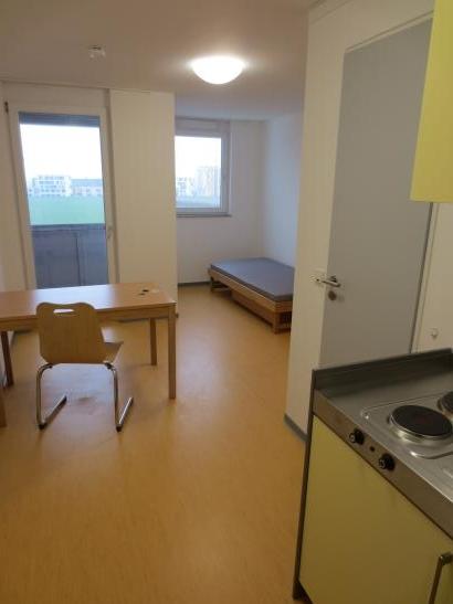 wohnung im neu gebauten studentenwohnheim kisselberg zu vermieten 1 zimmer wohnung in mainz. Black Bedroom Furniture Sets. Home Design Ideas
