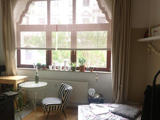 wundersch ne ruhige 1 raum wohnung in bester lage 1 zimmer wohnung in dresden strehlen. Black Bedroom Furniture Sets. Home Design Ideas