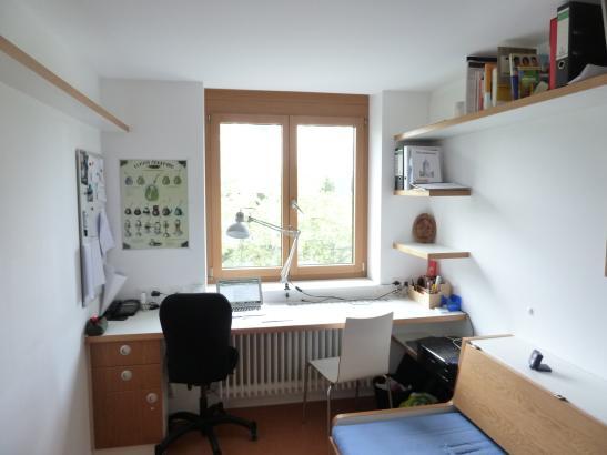 helles m bliertes zimmer in studentenwohnheim beste lage wg zimmer in mannheim quadrate. Black Bedroom Furniture Sets. Home Design Ideas