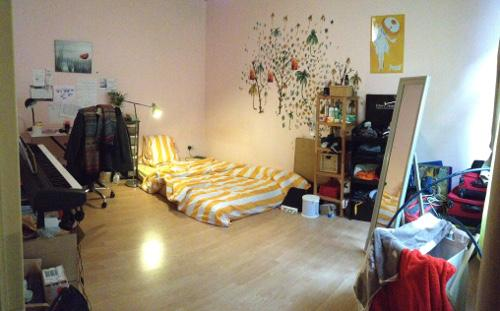 gro es doppelzimmer in hinterhaus wg im jungbusch zu vergeben wg zimmer in mannheim jungbusch. Black Bedroom Furniture Sets. Home Design Ideas