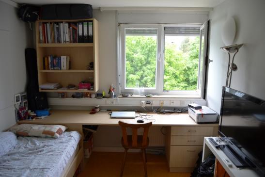 m bliertes 12qm zimmer im studentenwohnheim theophil wurm haus zimmer m bliert reutlingen hohbuch. Black Bedroom Furniture Sets. Home Design Ideas