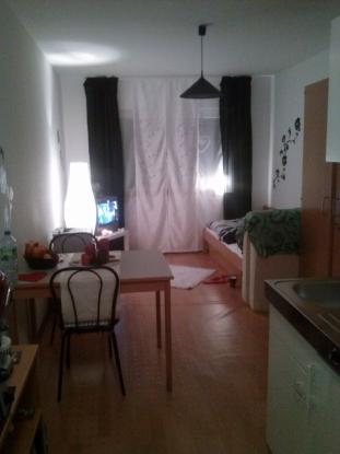 ruhige lage im gr nen 1 zimmer wohnung in mannheim rheinau. Black Bedroom Furniture Sets. Home Design Ideas