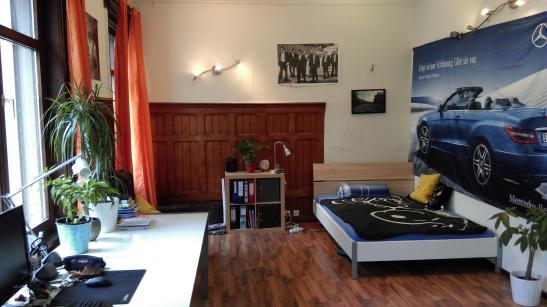24 m zimmer in renoviertem albau im zentrum wgs in biberach an der ri zentrum. Black Bedroom Furniture Sets. Home Design Ideas