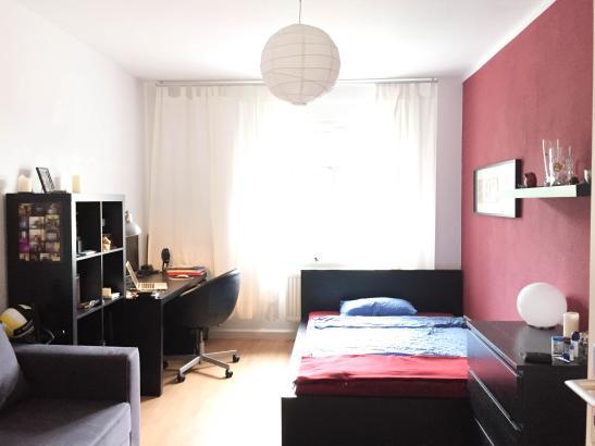 sehr sch nes m bliertes 16qm zimmer in dresden l btau wg zimmer in dresden l btau. Black Bedroom Furniture Sets. Home Design Ideas