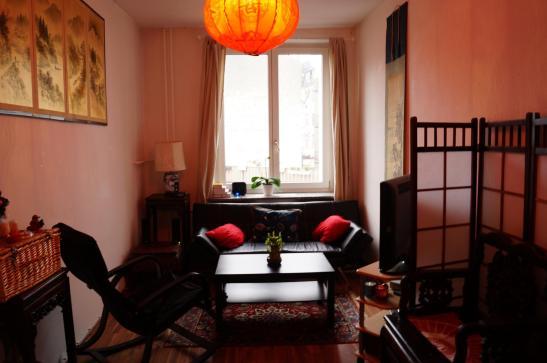 wundersch ne 2 zimmer wohnung mit riesiger terasse in bornheim wohnung in frankfurt am main. Black Bedroom Furniture Sets. Home Design Ideas