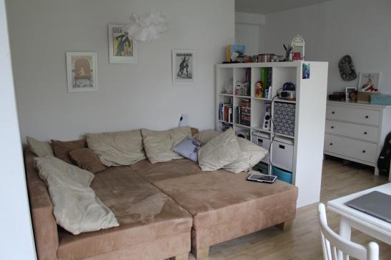 sch ne 1 zimmer wohnung mit garten in viertel 1 zimmer wohnung in bremen ostertor. Black Bedroom Furniture Sets. Home Design Ideas