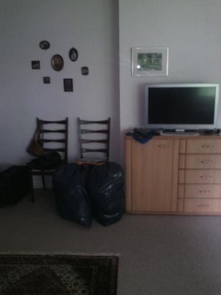 1 bett im 3 bett zimmer in 3 raum wohnung in essen s d. Black Bedroom Furniture Sets. Home Design Ideas