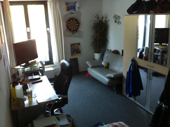 2er wg zimmer im studentenwohnheim zur zwischenmiete 3. Black Bedroom Furniture Sets. Home Design Ideas